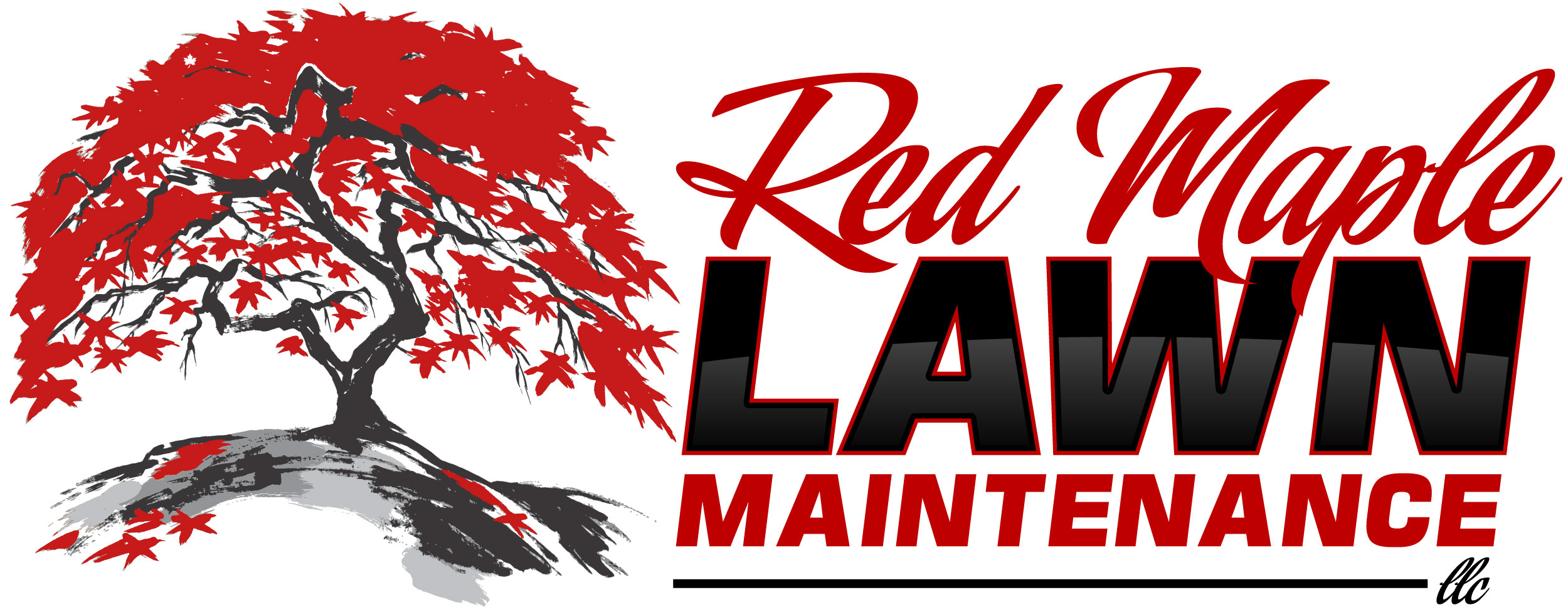 Red Maple Lawn Maintenance